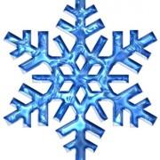 blu-fiocco-di-neve-icona-